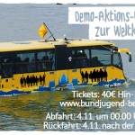 "Bus zur Demo ""Klima retten - Kohle stoppen!"" bei der Weltklimakonferenz in Bonn"