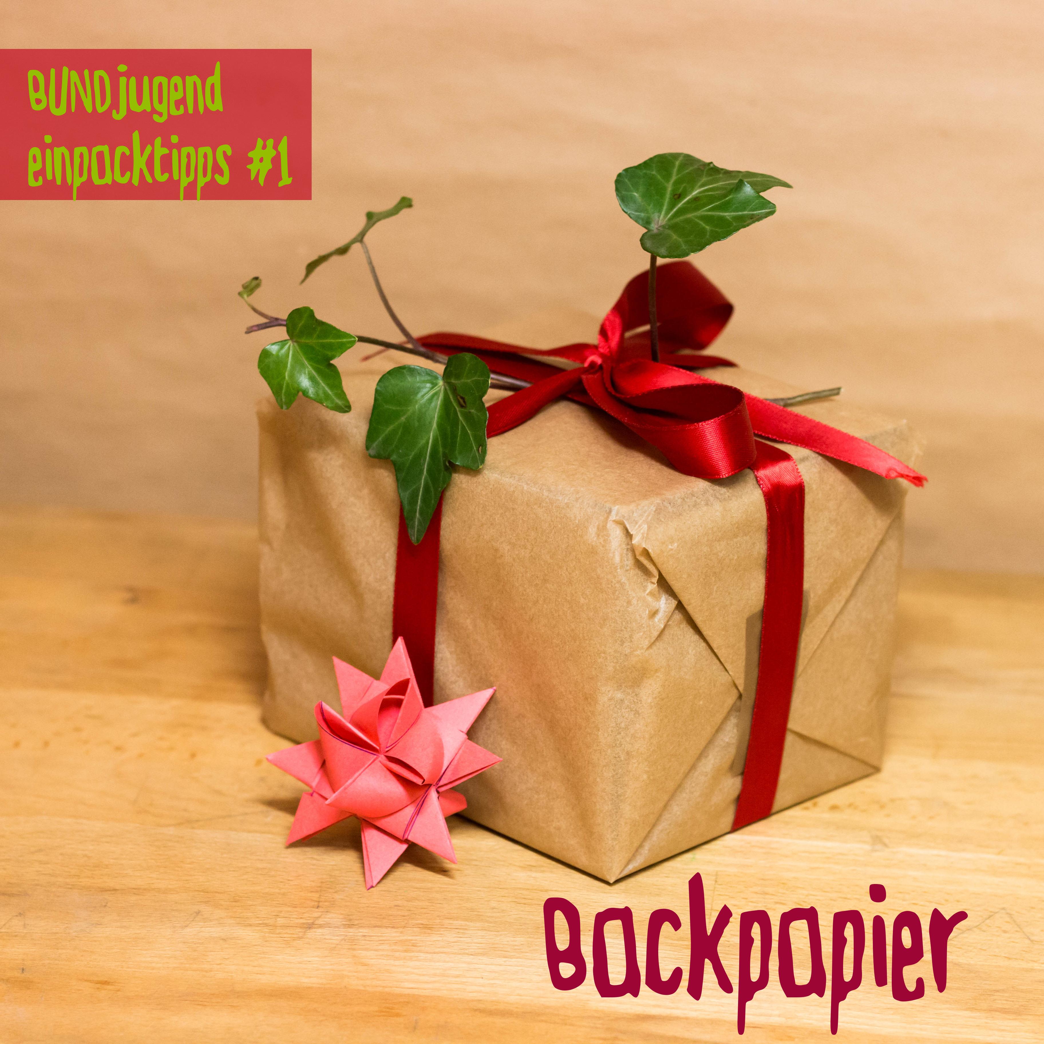 Vorschläge Weihnachtsgeschenke.Weihnachtsgeschenke ökologisch Verpacken Bundjugend Berlin